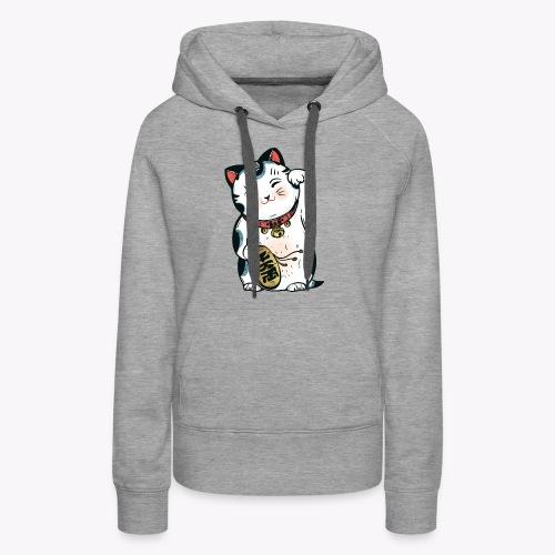 The Lucky Cat - Women's Premium Hoodie
