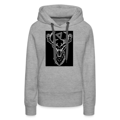 hirsch shirt - Frauen Premium Hoodie