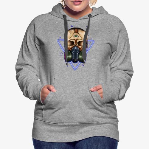 Galaxie toxique - Sweat-shirt à capuche Premium pour femmes