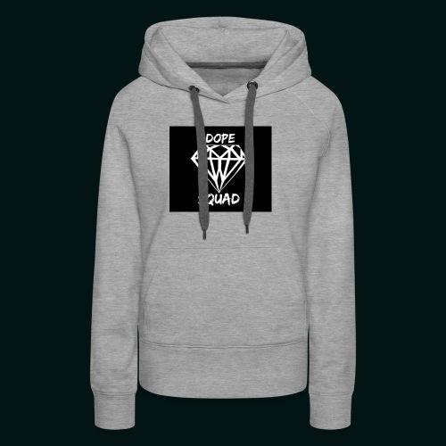 Dope Squad dames zwart - Vrouwen Premium hoodie
