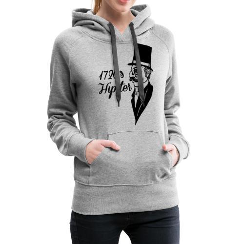1720 hipster - Vrouwen Premium hoodie