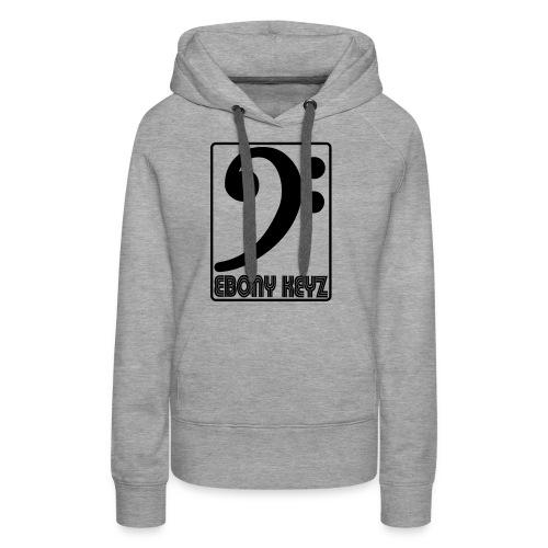 ebonyfkeyz - Sweat-shirt à capuche Premium pour femmes