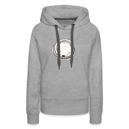 CAUTION CONTENTS HOT - Frauen Premium Hoodie