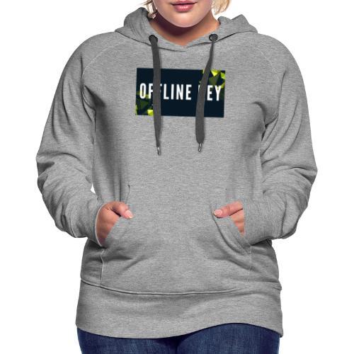 Offline Logo - Frauen Premium Hoodie