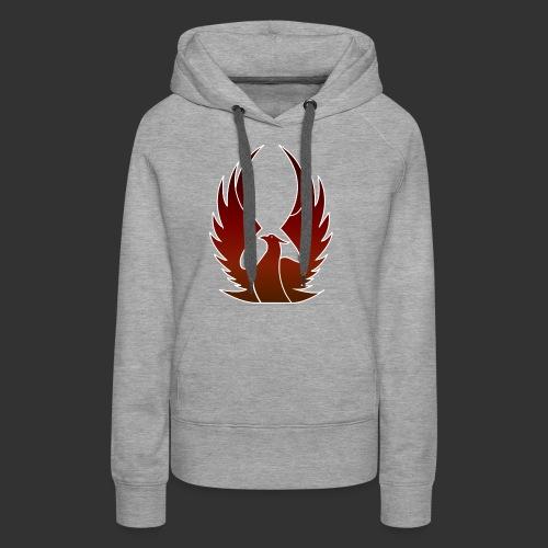 Phenix on fire - Sweat-shirt à capuche Premium pour femmes