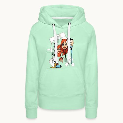 Chroma - Sweat-shirt à capuche Premium pour femmes