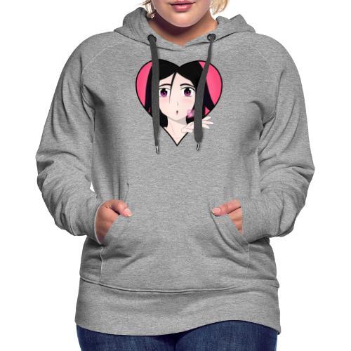 Manga Girls kiss - Frauen Premium Hoodie