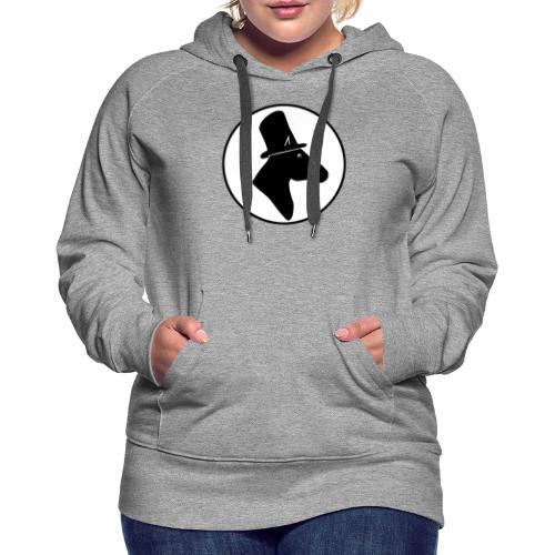 Herr Pferd Logo - Frauen Premium Hoodie