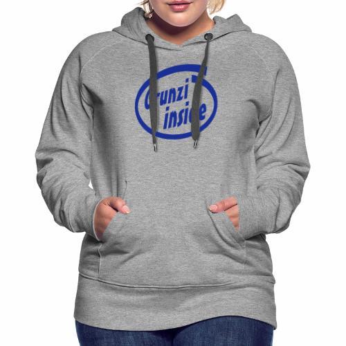 grunziinside - Frauen Premium Hoodie