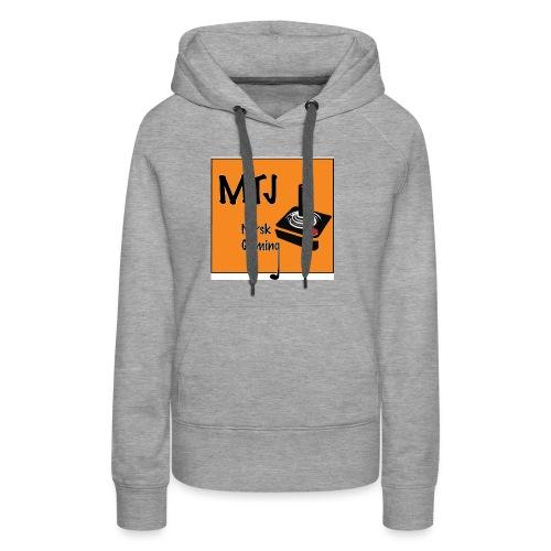 Mtj Logo - Premium hettegenser for kvinner