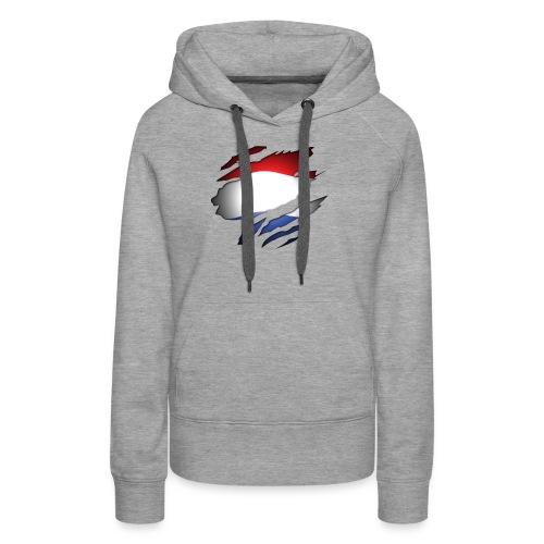 Dutch Inside: Vlag - Vrouwen Premium hoodie
