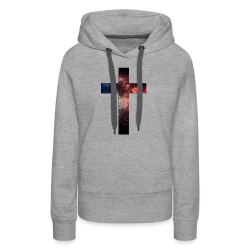Cross Galaxy - Vrouwen Premium hoodie