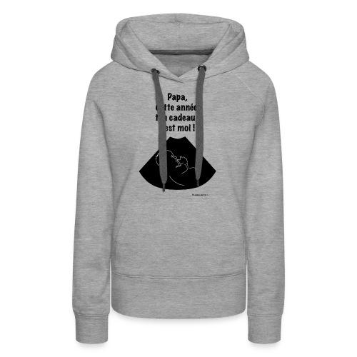 ton-cadeau,-c'est-moi.png - Sweat-shirt à capuche Premium pour femmes