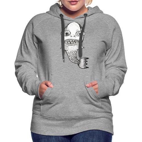 Fishy Thang - Sweat-shirt à capuche Premium pour femmes