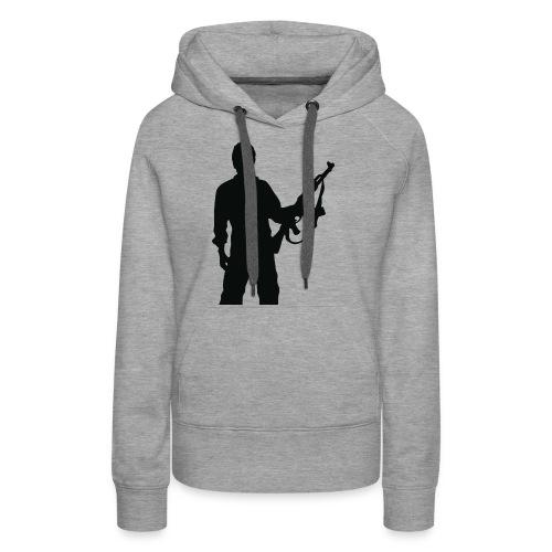 RESISTENZA INTERNAZIUNALE - Sweat-shirt à capuche Premium pour femmes