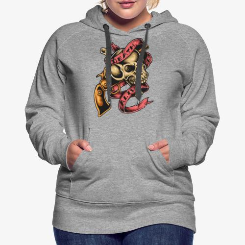 Death Or Alive - Sweat-shirt à capuche Premium pour femmes