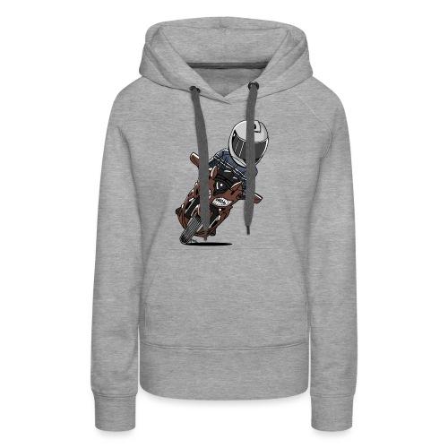 0790 FJR1300 Magnetic Bronze - Vrouwen Premium hoodie