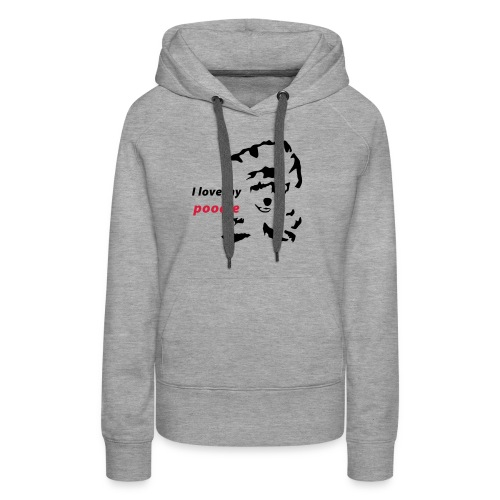 mypoodle f - Frauen Premium Hoodie