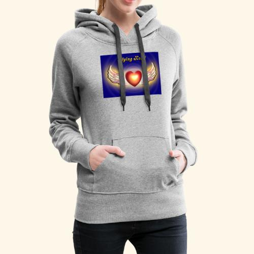 Flying Heart - Frauen Premium Hoodie