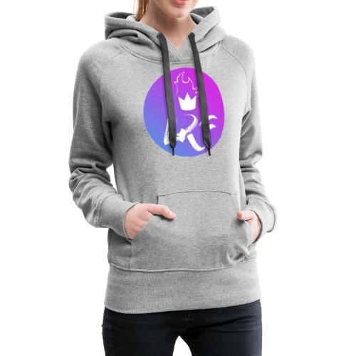 LRF rond - Sweat-shirt à capuche Premium pour femmes
