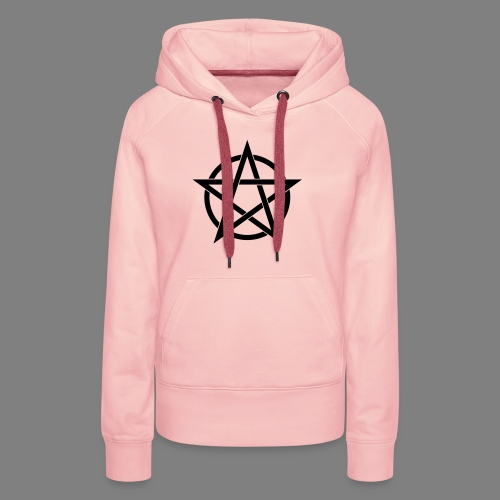 pentagramm - Frauen Premium Hoodie