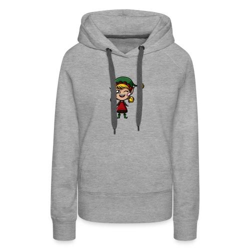 Lutin Kawaii ! - Sweat-shirt à capuche Premium pour femmes