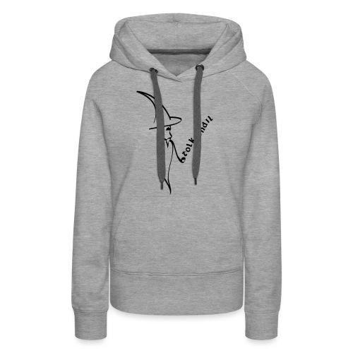 Tolkiendil & Magicien - Sweat-shirt à capuche Premium pour femmes