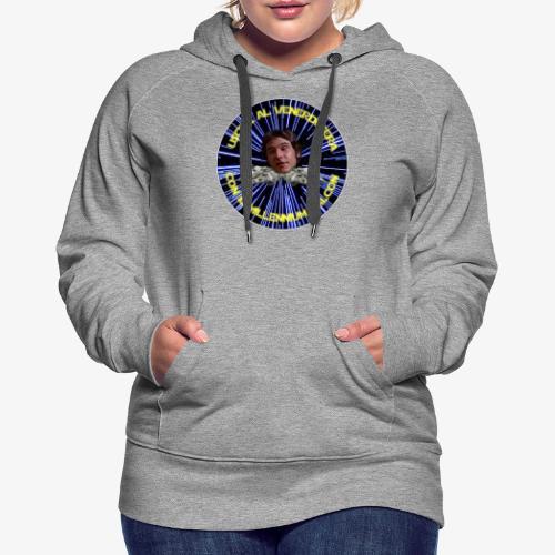 Logo UVSMF - Felpa con cappuccio premium da donna
