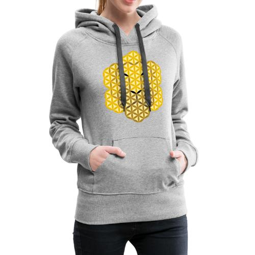 The Lion Of Life - Alpha Male, Crown 01 - Women's Premium Hoodie