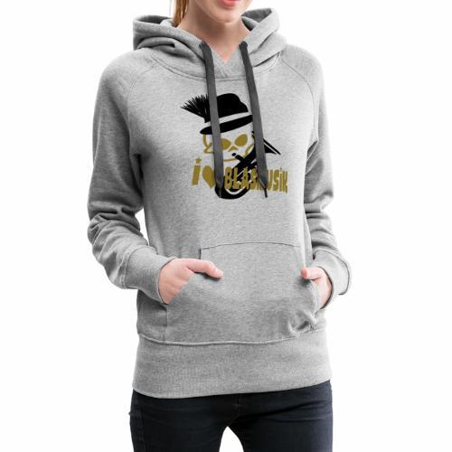 i love blasmusik - Frauen Premium Hoodie