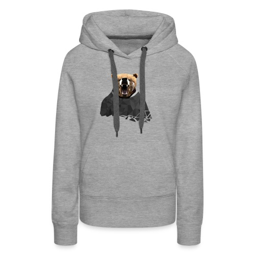 Explosive Bear - Women's Premium Hoodie