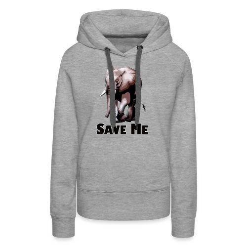 Elefant - SAVE ME - Frauen Premium Hoodie