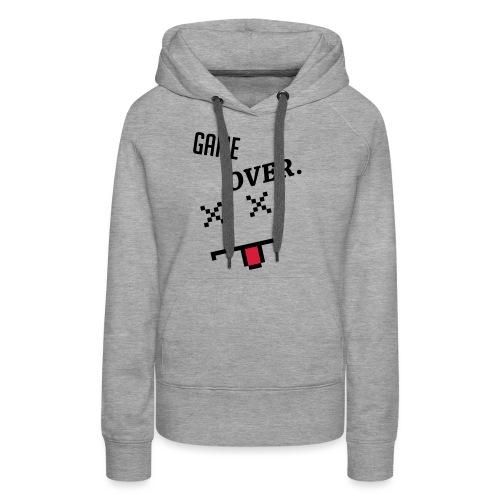 Game Over Geek Smiley - Women's Premium Hoodie