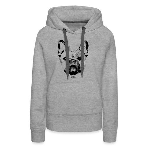 Französische Bulldogge Sketch - Frauen Premium Hoodie