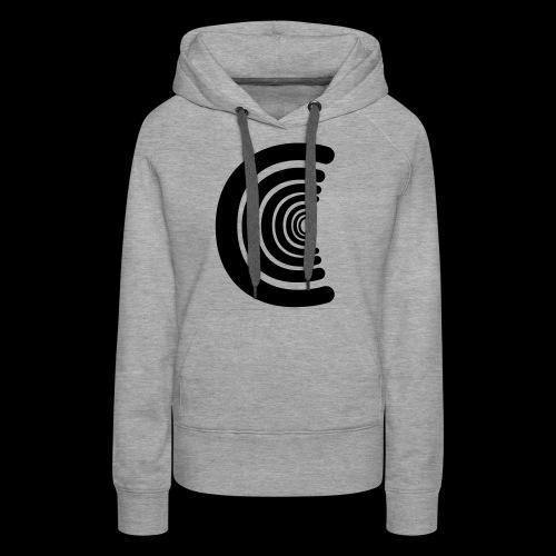 calm logo - Women's Premium Hoodie