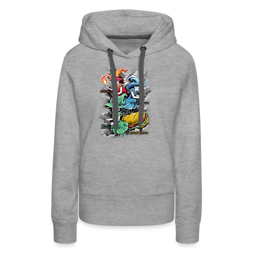 Types of Witches - Women's Premium Hoodie