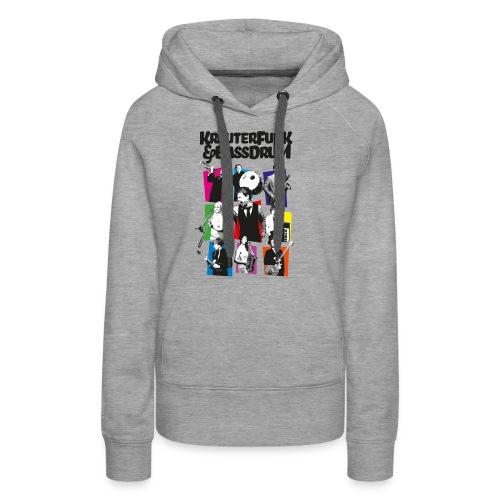 Kräuter-Band - Frauen Premium Hoodie