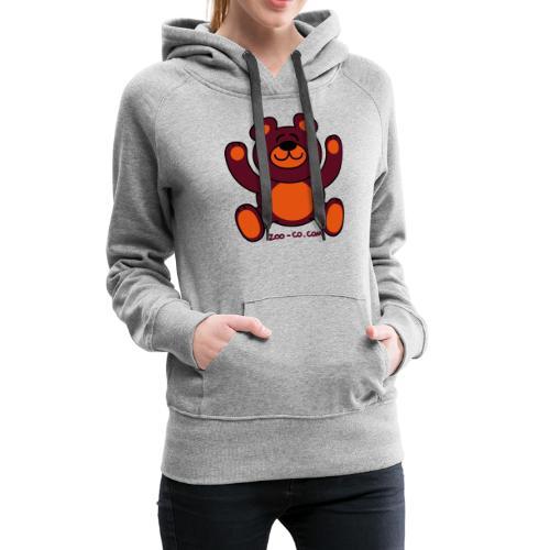 Christmas Teddy Bear - Women's Premium Hoodie