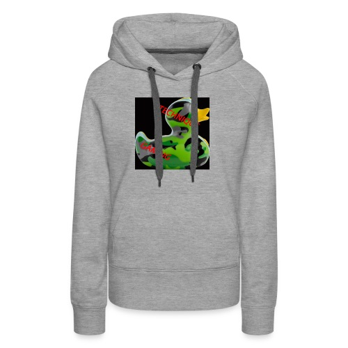 YOUTUBE NAME WITH A CAMO DUCK - Women's Premium Hoodie