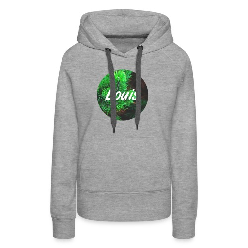 Louis round-logo - Frauen Premium Hoodie