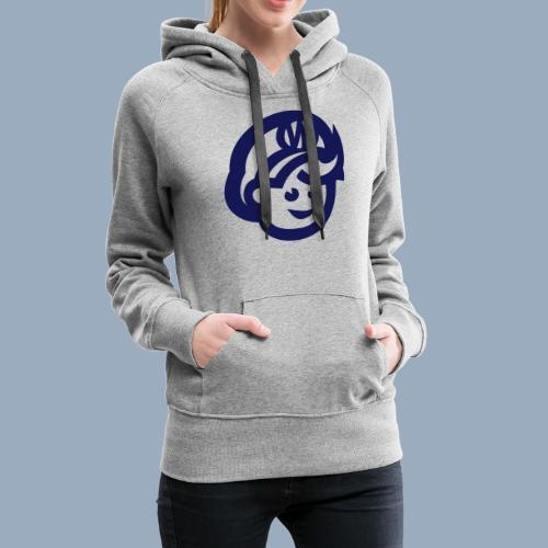 logo bb spreadshirt bb kopfonly - Frauen Premium Hoodie