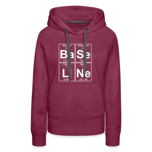 Ba-Se-Li-Ne (baseline) - Full - Women's Premium Hoodie
