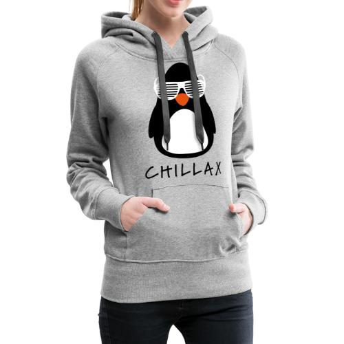Chillax - Vrouwen Premium hoodie