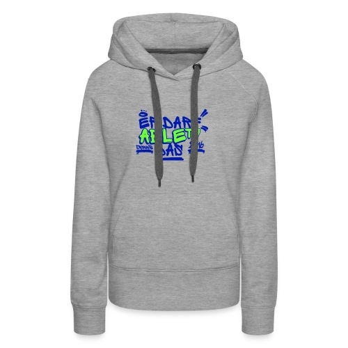 AbleTV Grafitti Logo Marken Shirt (Er Darf Das) - Frauen Premium Hoodie