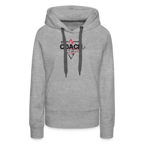KKK - Sweat-shirt à capuche Premium pour femmes