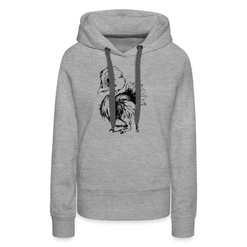 Autruchon - Sweat-shirt à capuche Premium pour femmes
