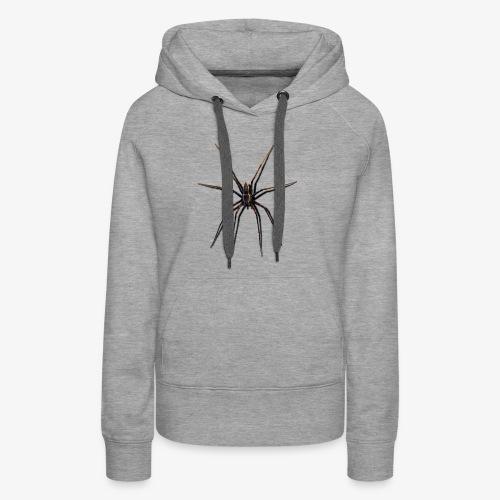 araignée - Sweat-shirt à capuche Premium pour femmes