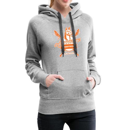 Llamas - Maastricht Lacrosse - Oranje - Vrouwen Premium hoodie