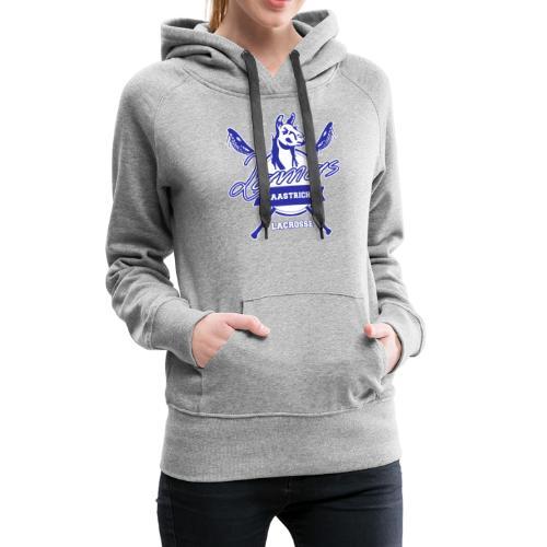 Llamas - Maastricht Lacrosse - Blauw - Vrouwen Premium hoodie