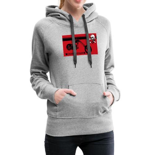 CHOPPERS - Sweat-shirt à capuche Premium pour femmes